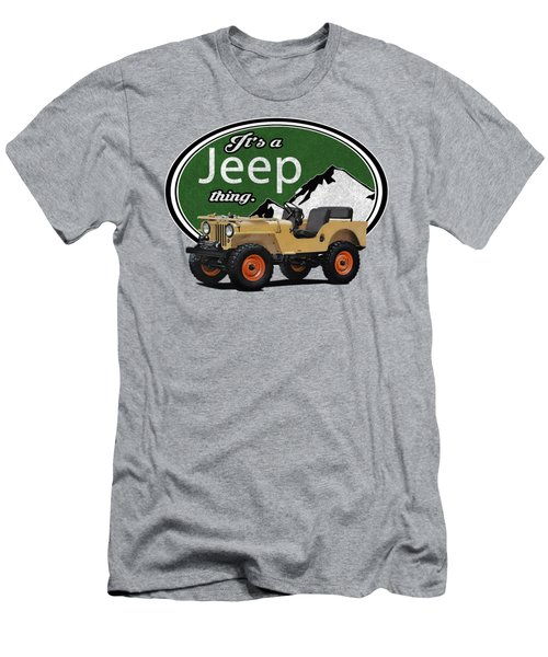 It's A Jeep Thing Men's T-Shirt (Athletic Fit)
