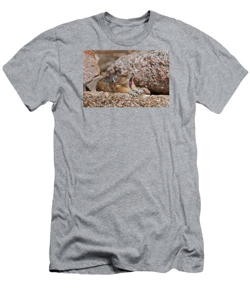 Men's T-Shirt (Slim Fit) featuring the photograph It's Been A Long Day by Gary Lengyel
