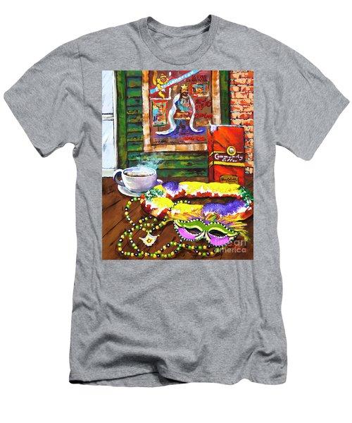 It's Mardi Gras Time Men's T-Shirt (Athletic Fit)