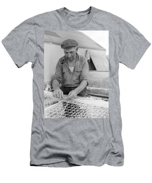 Men's T-Shirt (Slim Fit) featuring the photograph It's My Job by John Stephens