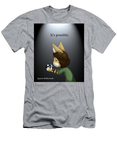 It's Possible Men's T-Shirt (Athletic Fit)