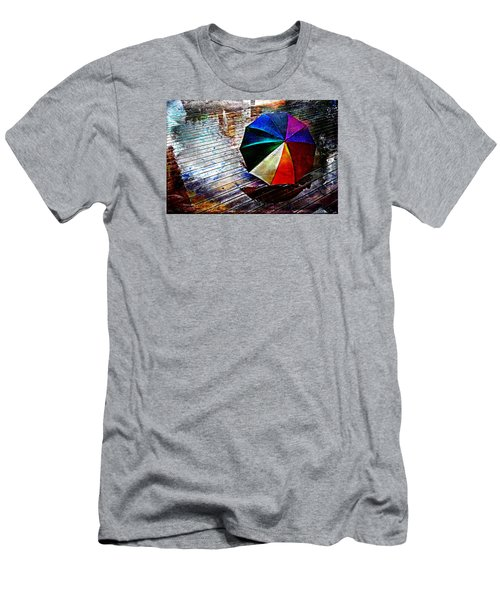 It's Raining Again Men's T-Shirt (Slim Fit) by Randi Grace Nilsberg
