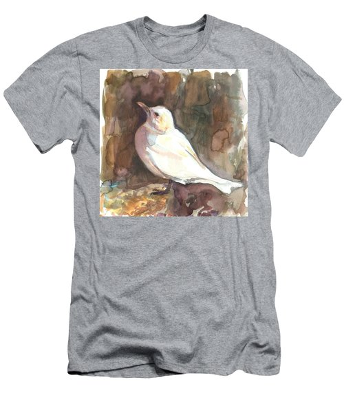 Ivory Gull Men's T-Shirt (Athletic Fit)