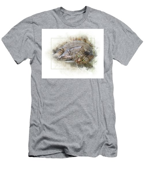 Men's T-Shirt (Athletic Fit) featuring the digital art Jack by Sue Collura