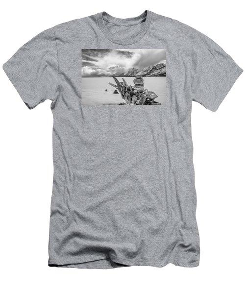 Jackson Lake Men's T-Shirt (Athletic Fit)
