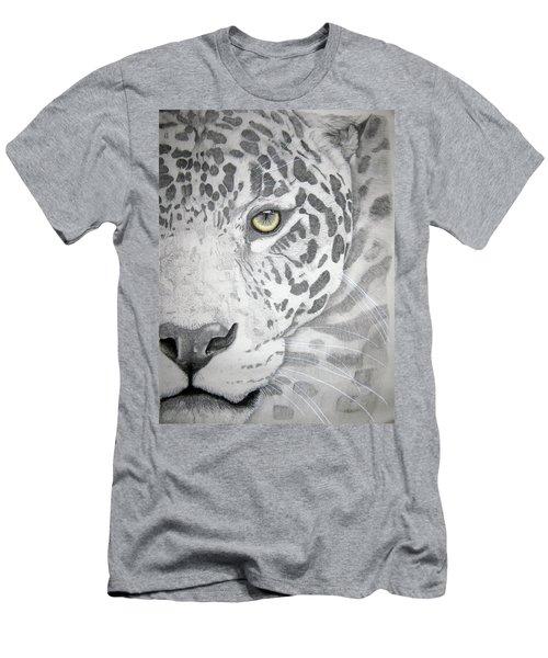 Men's T-Shirt (Slim Fit) featuring the drawing Jaguar by Mayhem Mediums