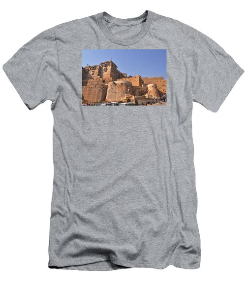 Jaisalmer Desert Festival-9 Men's T-Shirt (Athletic Fit)