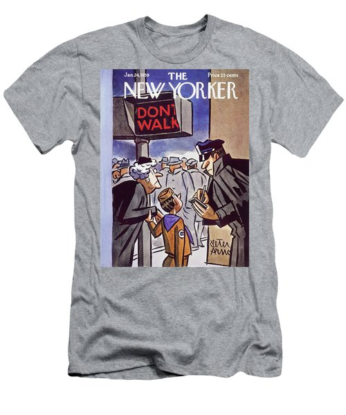 New Yorker January 24 1959 Men's T-Shirt (Athletic Fit)