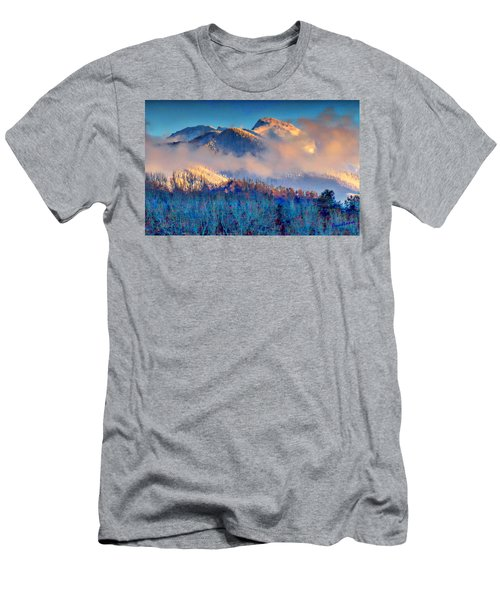 January Evening Truchas Peak Men's T-Shirt (Athletic Fit)