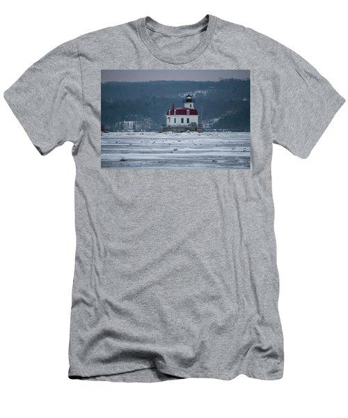 January Morning At Esopus Light Men's T-Shirt (Athletic Fit)