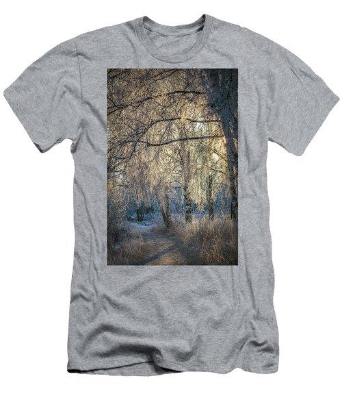 January,1-st, 14.35 #h4 Men's T-Shirt (Athletic Fit)