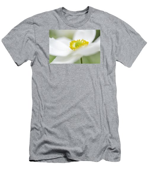 Japanese Anemone Men's T-Shirt (Slim Fit)