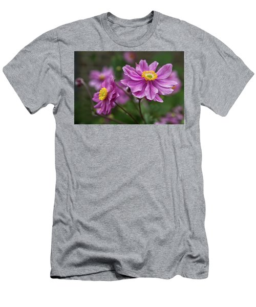 Japanese Anemone Men's T-Shirt (Athletic Fit)