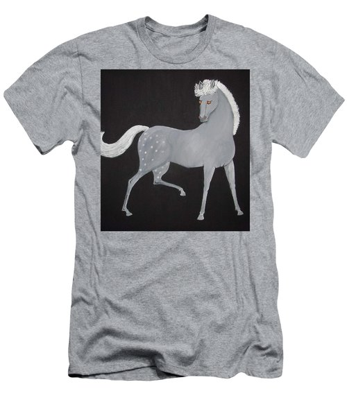 Japanese Horse 2 Men's T-Shirt (Athletic Fit)