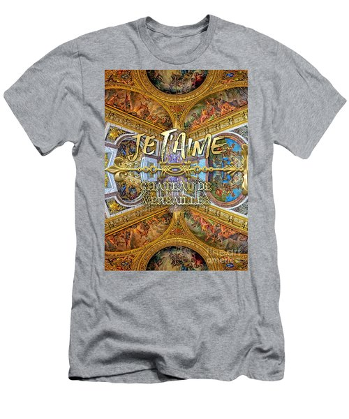 Je Taime Chateau Versailles Peace Salon Hall Of Mirrors Men's T-Shirt (Athletic Fit)
