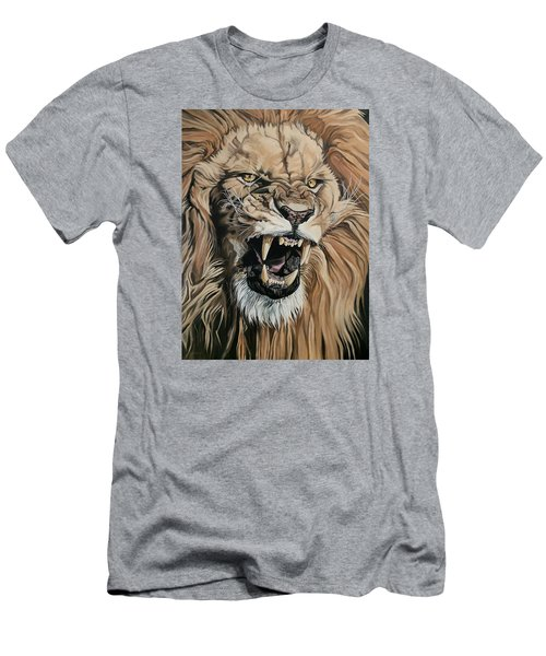 Jealous Roar Men's T-Shirt (Slim Fit) by Nathan Rhoads