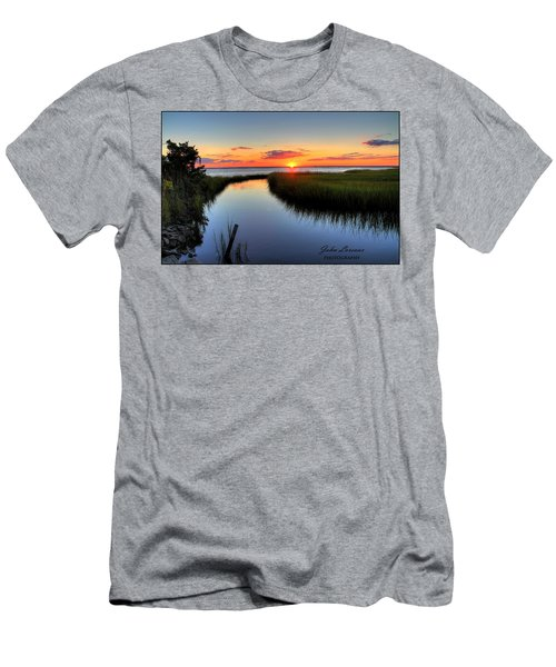 Jeffres Reflections Men's T-Shirt (Slim Fit) by John Loreaux