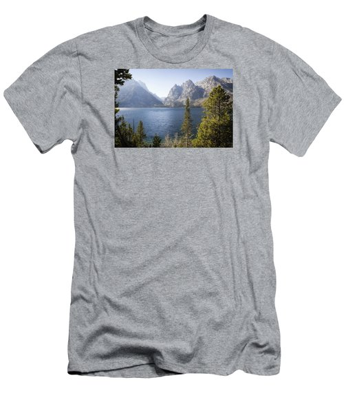 Jenny Lake Men's T-Shirt (Slim Fit) by Shirley Mitchell