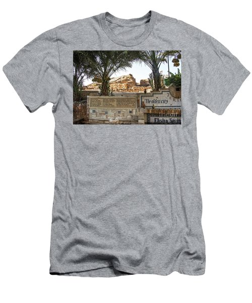 Men's T-Shirt (Athletic Fit) featuring the photograph Jerico by Mae Wertz