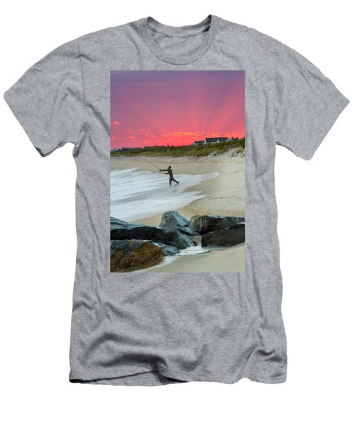 Jetty Four Fisherman Men's T-Shirt (Athletic Fit)