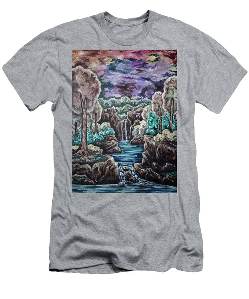 Jewels Of The Valley Men's T-Shirt (Slim Fit) by Cheryl Pettigrew
