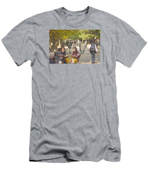 Jidai Matsuri Xxi Men's T-Shirt (Slim Fit) by Cassandra Buckley