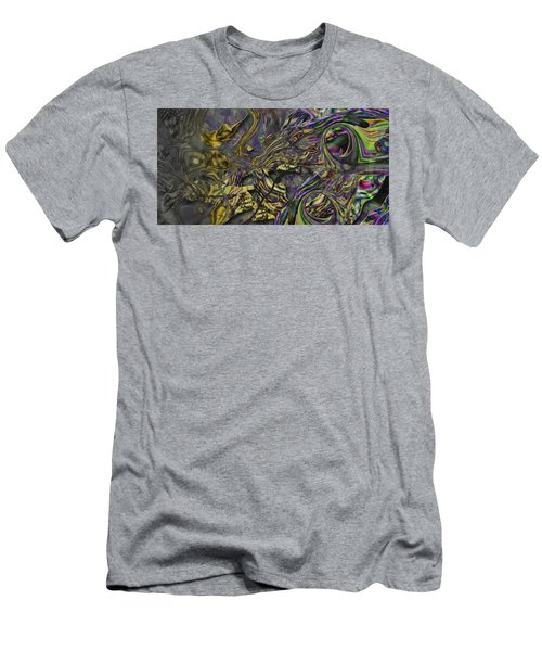 Men's T-Shirt (Slim Fit) featuring the digital art Jingle Pete by Steve Sperry