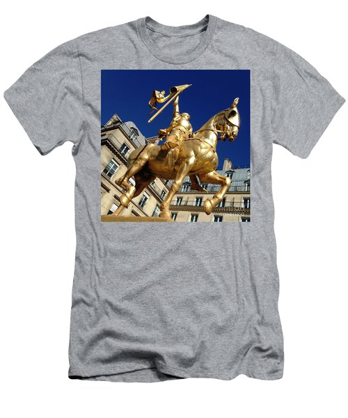 Joan Of Arc - Paris Men's T-Shirt (Slim Fit) by Therese Alcorn
