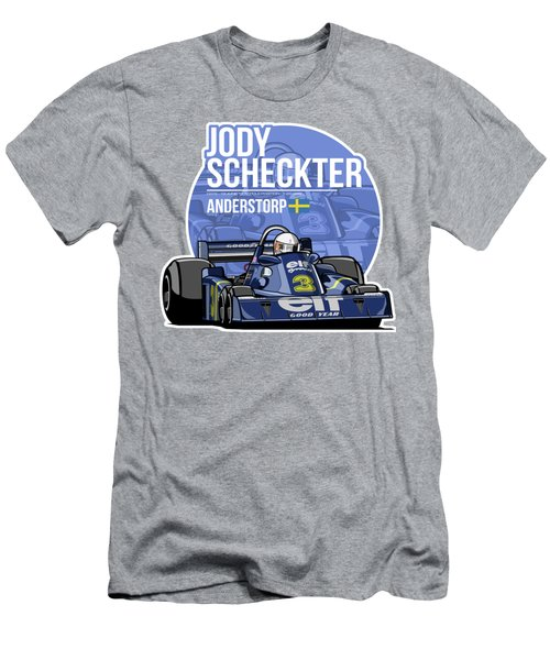 Jody Scheckter - 1976 Anderstorp Men's T-Shirt (Athletic Fit)