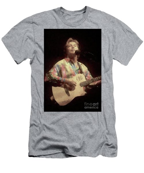 John Denver Painting Men's T-Shirt (Athletic Fit)