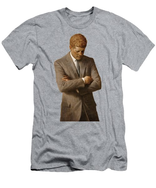 John F Kennedy Men's T-Shirt (Athletic Fit)