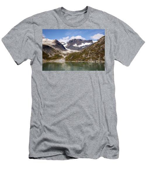 John Hopkins Glacier 5 Men's T-Shirt (Slim Fit) by Richard J Cassato