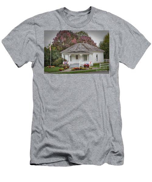 John Wayne Birthplace Men's T-Shirt (Slim Fit) by Lynn Sprowl
