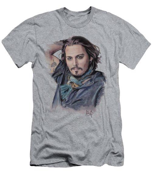 Johnny Depp Men's T-Shirt (Athletic Fit)