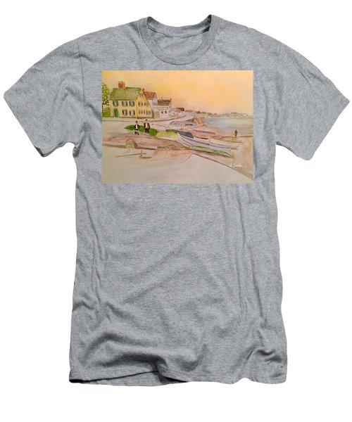 Joppa Flats Newburyport Men's T-Shirt (Athletic Fit)