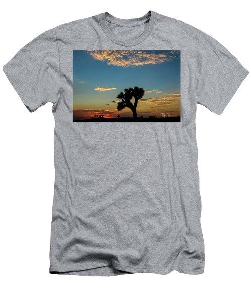 Joshua Sunset Men's T-Shirt (Athletic Fit)