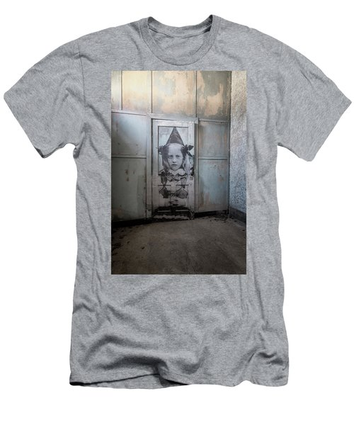 Men's T-Shirt (Athletic Fit) featuring the photograph Jr On The Door by Tom Singleton
