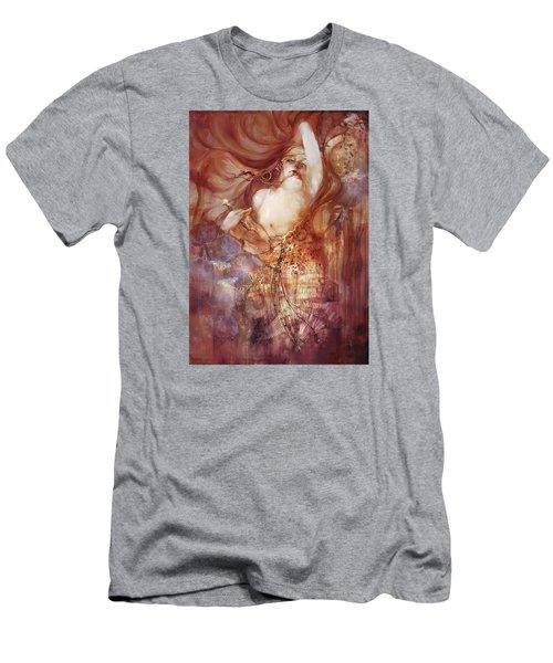 Judith V2 Men's T-Shirt (Slim Fit) by Te Hu