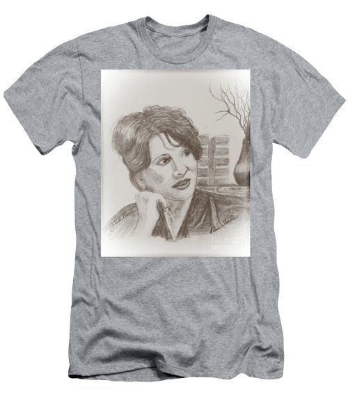 Juliette Binoche Men's T-Shirt (Athletic Fit)
