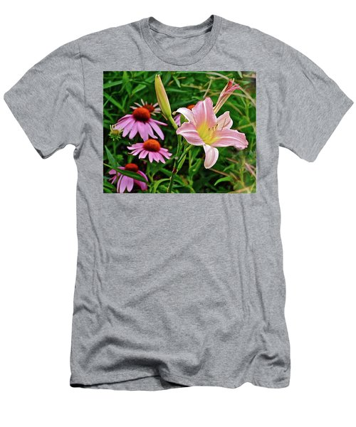 July Lily #10 Men's T-Shirt (Athletic Fit)
