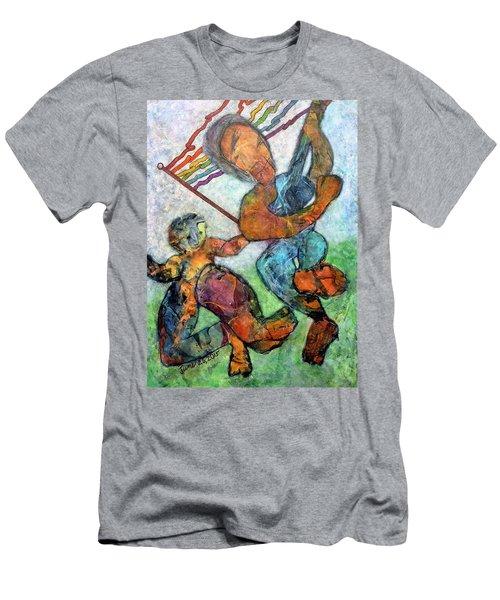 Jump For Joy Men's T-Shirt (Athletic Fit)