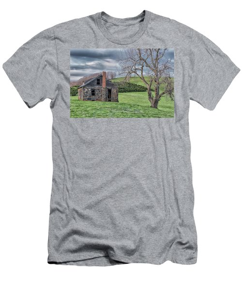 Junaluska Road Christmas Tree Farm Men's T-Shirt (Athletic Fit)