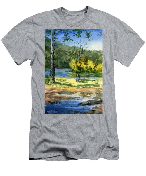 Junction Of White And Spring Rivers Men's T-Shirt (Athletic Fit)