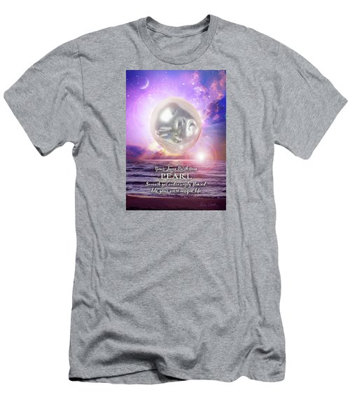 June Birthstone Pearl Men's T-Shirt (Athletic Fit)