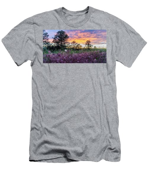 June Color At The Rimrocks Men's T-Shirt (Athletic Fit)