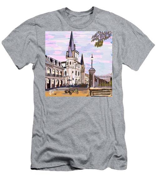 June, Where In The World Is My Elliptigo? Men's T-Shirt (Athletic Fit)