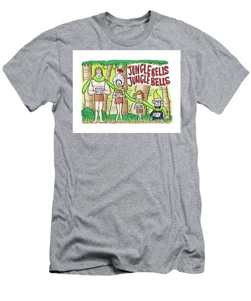 Jungle Bells Men's T-Shirt (Athletic Fit)
