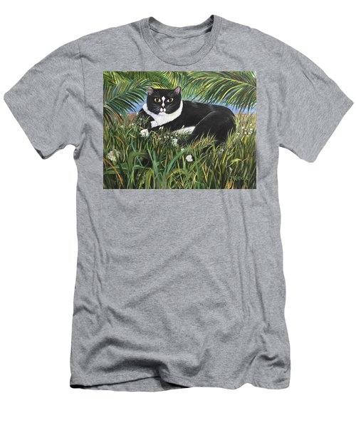 Jungle Kitty Men's T-Shirt (Athletic Fit)