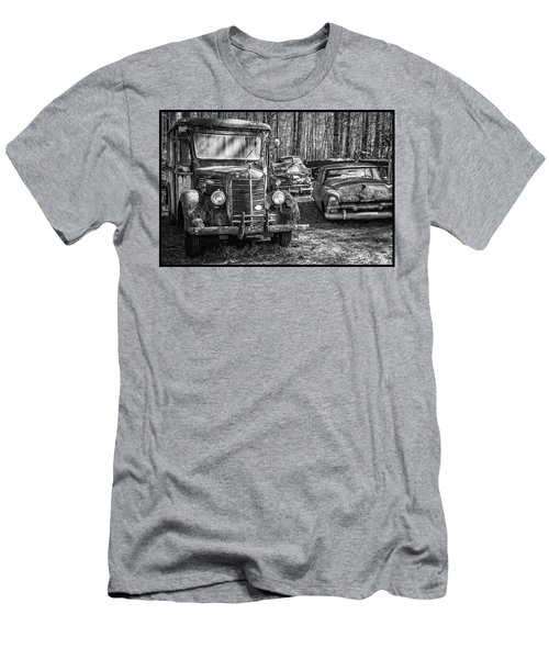 Junked Mack Truck Ad Old Plymouth Men's T-Shirt (Athletic Fit)