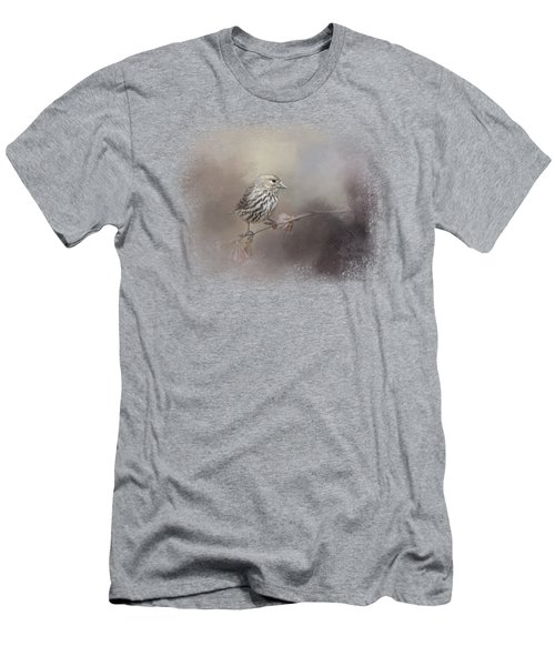 Just A Whisper Of Feathers Men's T-Shirt (Slim Fit)